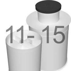 ML15 автономна каналізація для 11-15 осіб