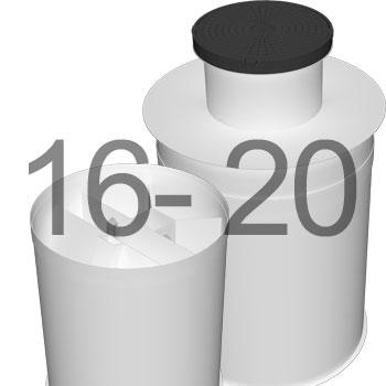 ML20 автономна каналізація для 16-20 осіб 3