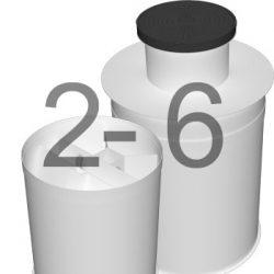 ML6 автономна каналізація для 2-6 осіб