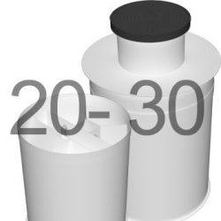 ML30 автономна каналізація для 20-30 осіб