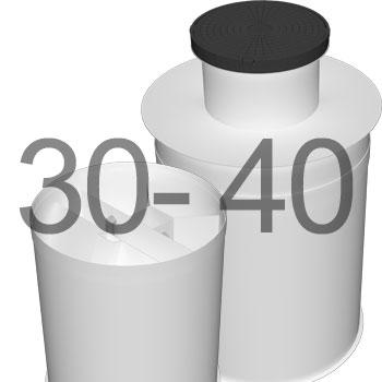 ML40 автономна каналізація для 30-40 осіб 2