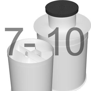 ML10 автономна каналізація для 7-10 осіб 3