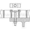Кріплення для настилу та плит типу W 1